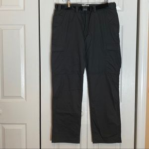 NWT Field & Stream Adventurer Cargo Pants Grey